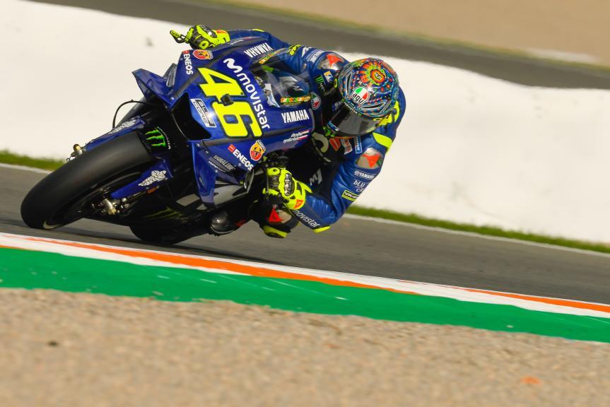 Valentino Rossi, Yamaha Factory Racing, Valencia MotoGP™ Test