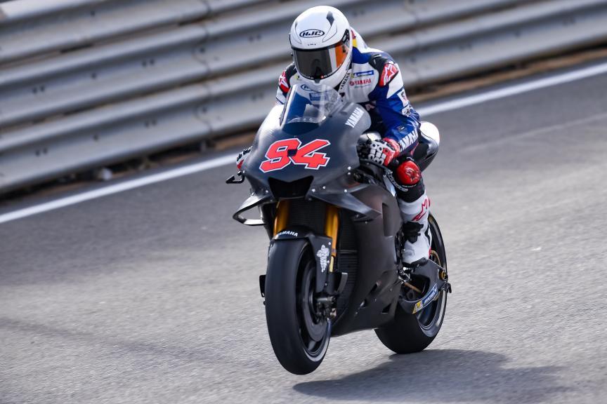 Jonas Folger, Yamaha Test Team, Valencia MotoGP™ Test