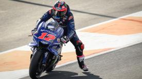 See what the riders have tried in Day 1, as  Lorenzo goes to Honda, Zarco goes to KTM and the rookies pit out for the first time