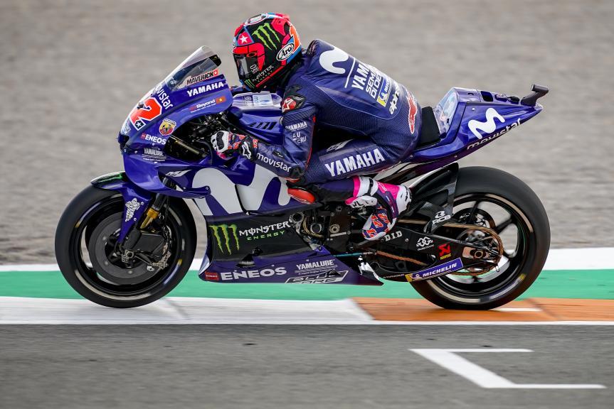 Maverick Viñales, Yamaha Factory Racing, Valencia MotoGP™ Test