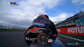 Watch the five-time World Champion take his new RC213V for a spin on Day 1 of the Valencia Test