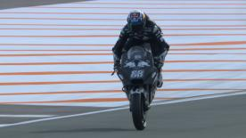 The KTM Tech 3 rookie had a massive moment during the Valencia Test at the Circuit Ricardo Tormo