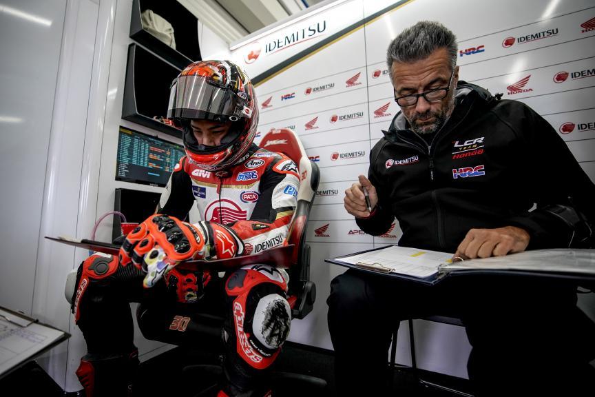 Takaaki Nakagami, LCR Honda Idemitsu, Valencia MotoGP™ Test