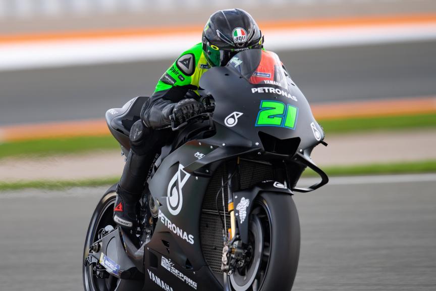 Franco Morbidelli, Petronas Yamaha SRT, Valencia MotoGP™ Test
