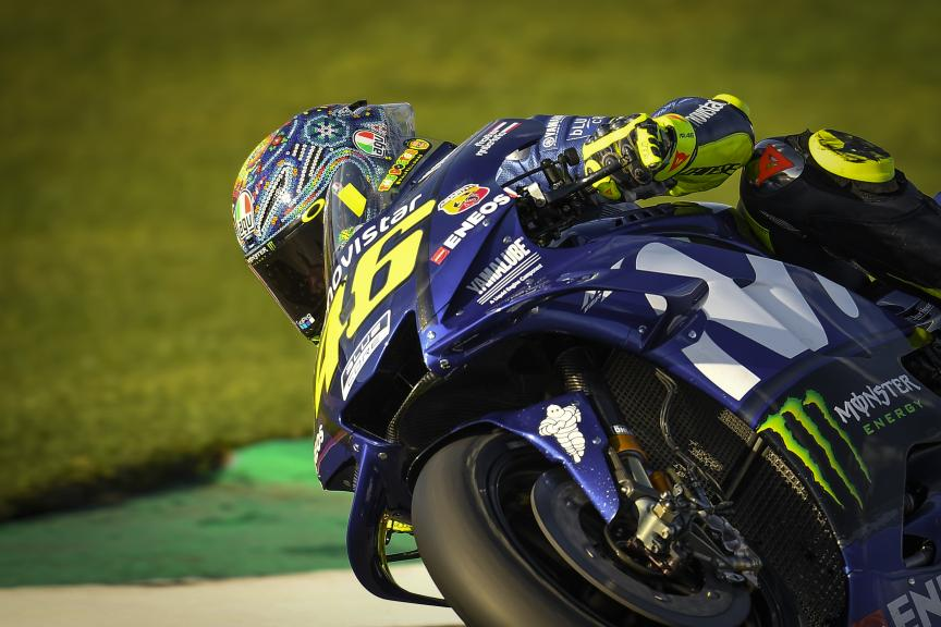 Valentino Rossi, Yamaha Factory Racing, Valencia MotoGP™ Test