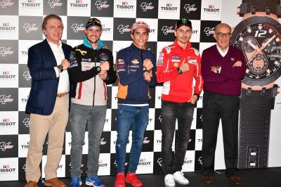 Tissot lancia la nuova collezione ufficiale del MotoGP™