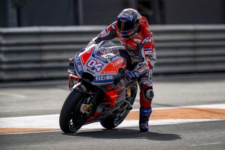 Andrea Dovizioso, Ducati Team, Valencia MotoGP™ Test