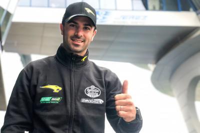 Di Meglio, confirmado por el Team Marc VDS en MotoE™