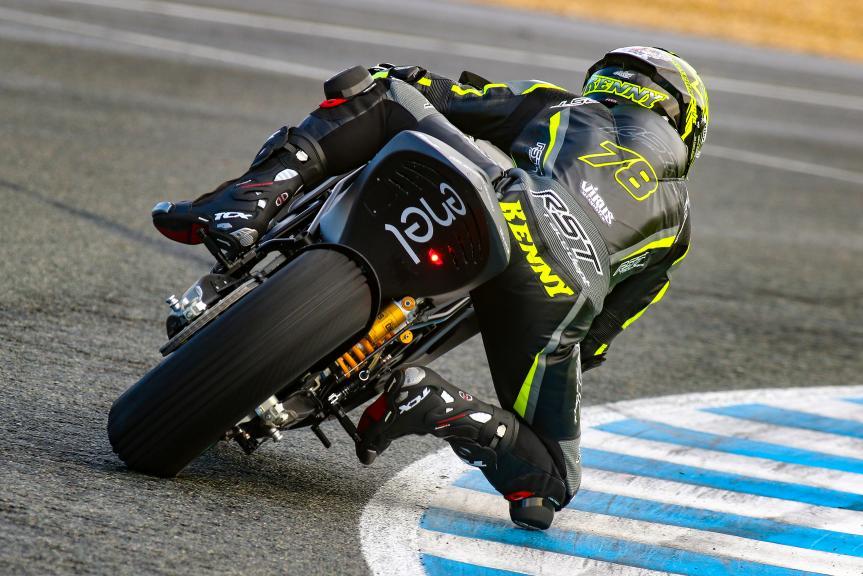 Jerez MotoE™-Moto2™ Test
