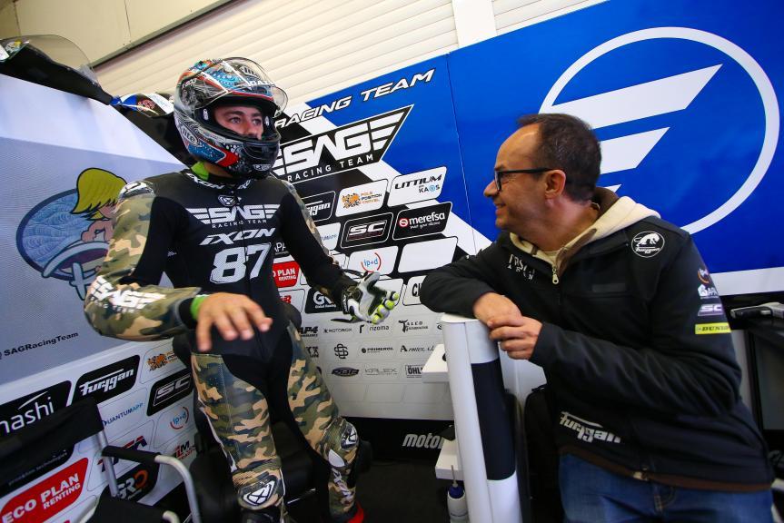 Remy Gardner, SAG Team, Jerez MotoE™-Moto2™ Test