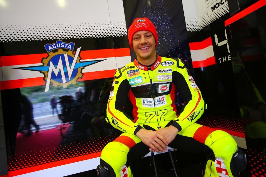 Dominique Aegerter, Forward Racing Team, Jerez MotoE™-Moto2™ Test
