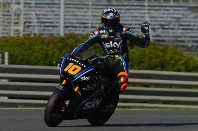 Test Moto2™ - jour 2: Marini récupère la main à Jerez