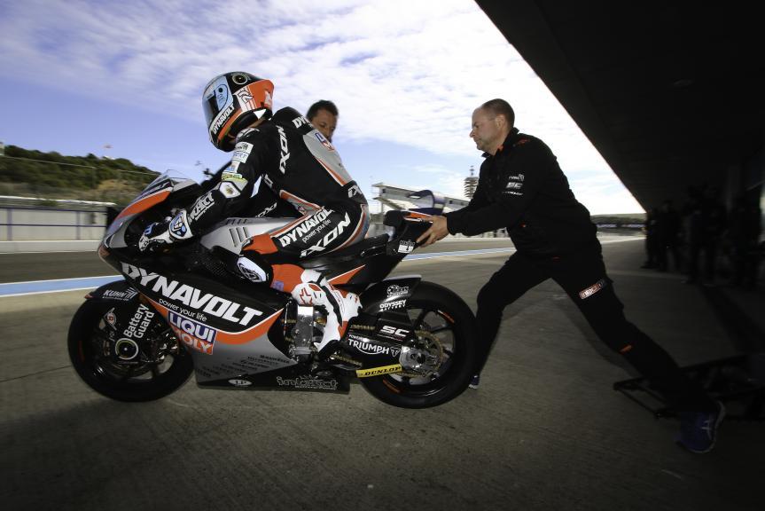 Marcel Schrotter, Dynavolt Intact GP, Jerez MotoE™-Moto2™ Test