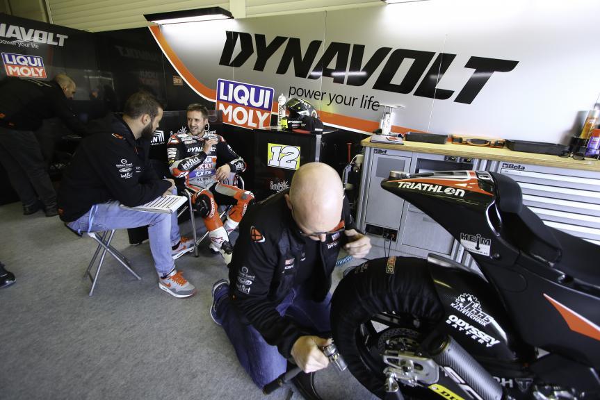 Tom Luthi, Intact GP, Jerez MotoE™-Moto2™ Test