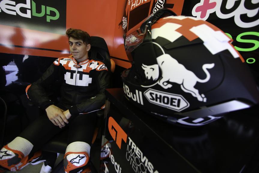 Fabio di Giannantonio, Jerez MotoE™-Moto2™ Test