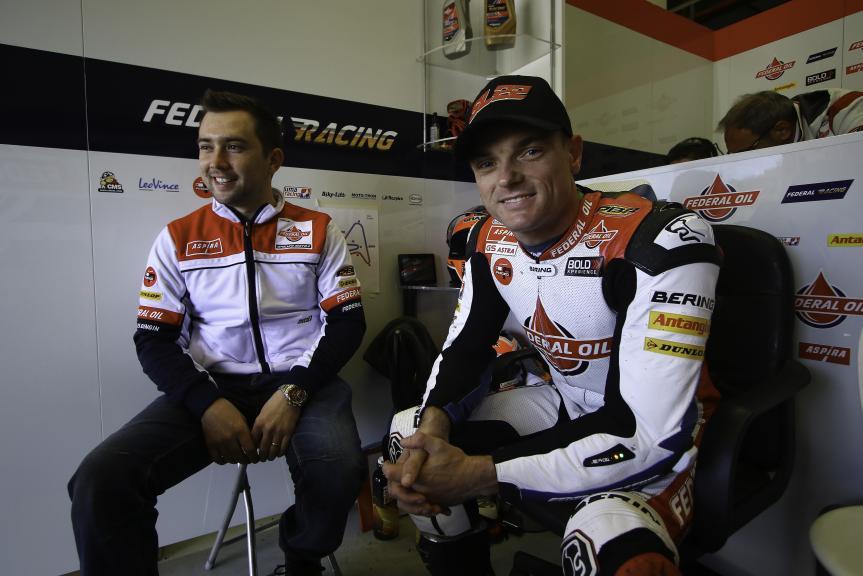 Sam Lowes, Federal Oil Gresini Moto2, Jerez MotoE™-Moto2™ Test