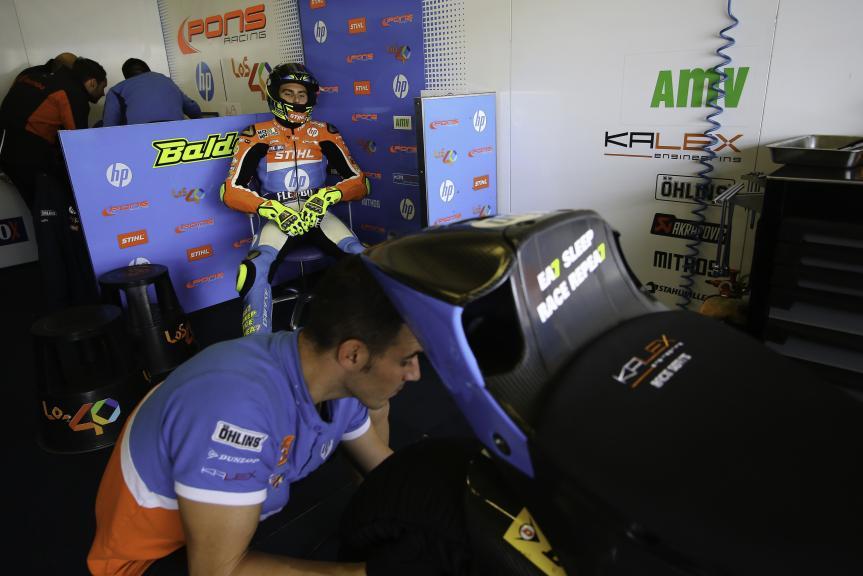 Lorenzo Baldassari, Pons HP40, Jerez MotoE™-Moto2™ Test