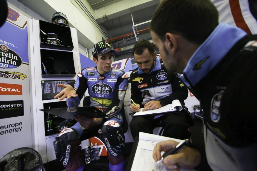 Alex Marquez, EG 0,0 Marc Vds, Jerez MotoE™-Moto2™ Test