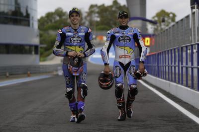 Las imágenes del test de Moto2™ y MotoE™ en Jerez