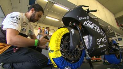 Test MotoE™ de Jerez : L'analyse de Taramasso