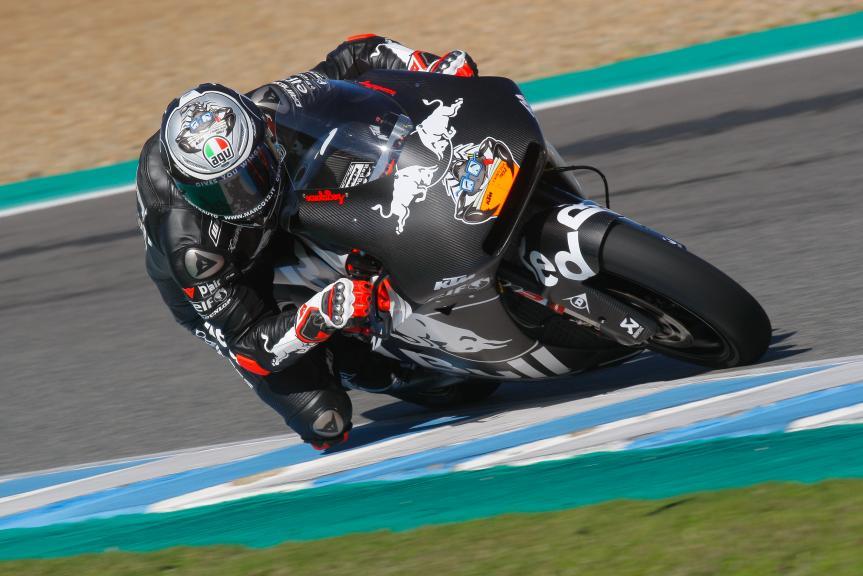 Marco Bezzecchi, Red Bull KTM Tech 3, Jerez MotoE™-Moto2™ Test