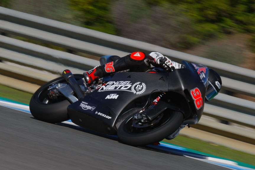 Jake Dixon, Angel Nieto Team, Jerez MotoE™-Moto2™ Test
