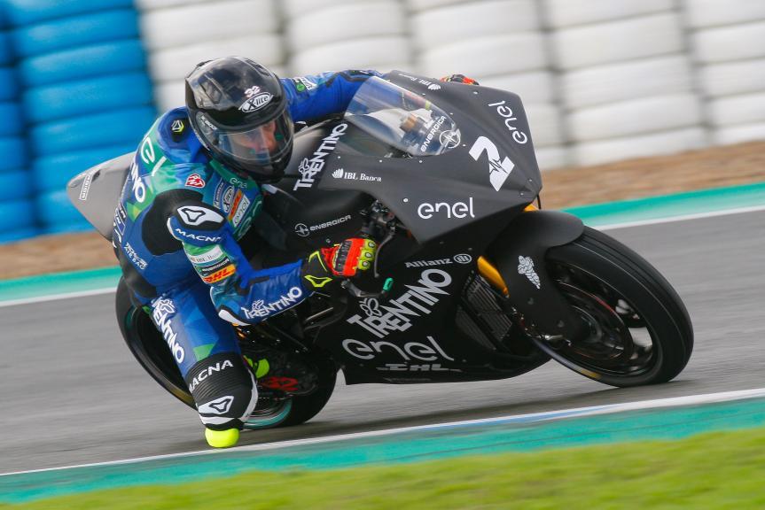 Lorenzo Savadori, Trentino Gresini Motoe, Jerez MotoE™-Moto2™ Test