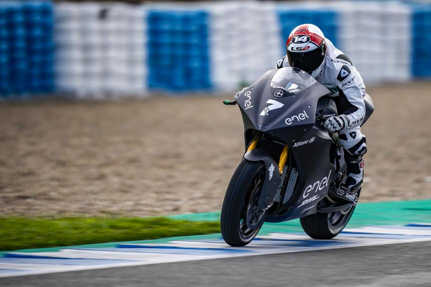 Randy De Puniet, LCR E-Team, Jerez MotoE™-Moto2™ Test