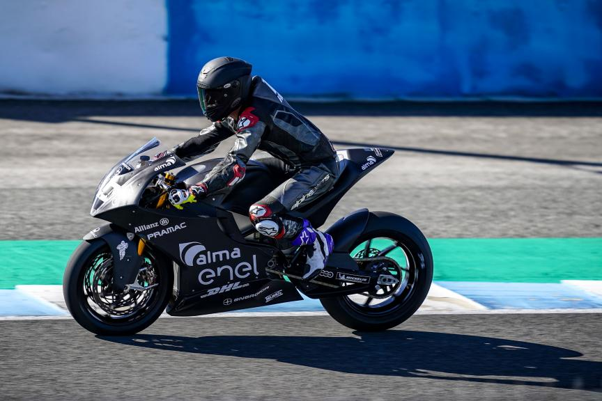 Josh Hook, Alma Pramac Racing, Jerez MotoE™-Moto2™ Test