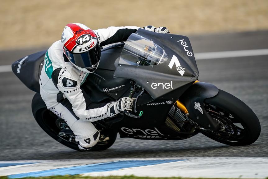 Randy De Puniet, LCR E-Team, Jerez MotoE™-Moto2™ Test