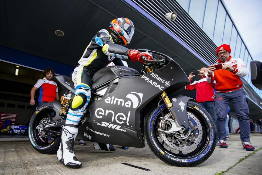 Alex De Angelis, Alma Pramac Racing, Jerez MotoE™-Moto2™ Test