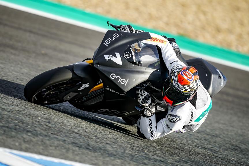 Niccolo Canepa, LCR E-Team, Jerez MotoE™-Moto2™ Test