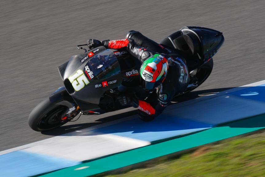Matteo Baiocco, Aprilia Racing Team Gresini, Jerez MotoGP™ Test