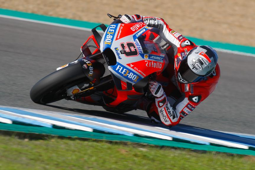 Danilo Petrucci, Ducati Team, Jerez MotoGP™ Test