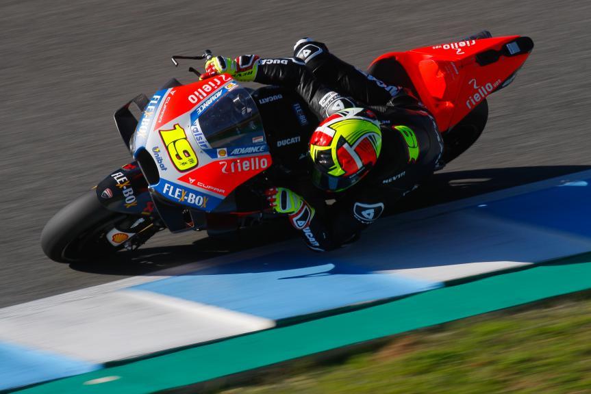 Albaro Bautista, Ducati Test Team, Jerez MotoGP™ Test