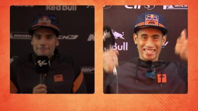 Risas en el box: ¿cuánto se conocen Oliveira y Syahrin?