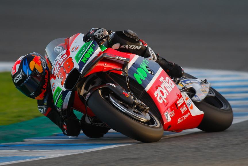 Bradley Smith, Aprilia Racing Test Team, Jerez MotoGP™ Test