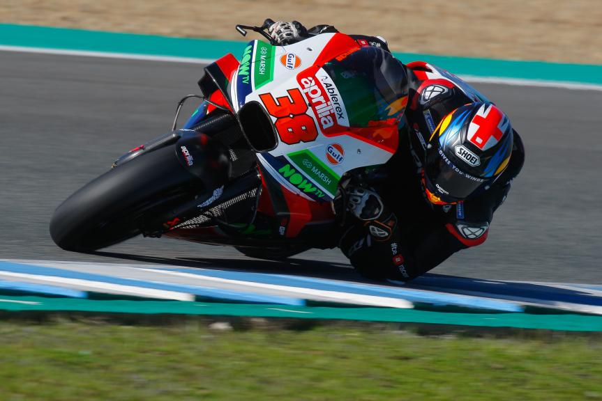 Bradley Smith,  Aprilia Racing Test Team, Jerez MotoGP™ Test