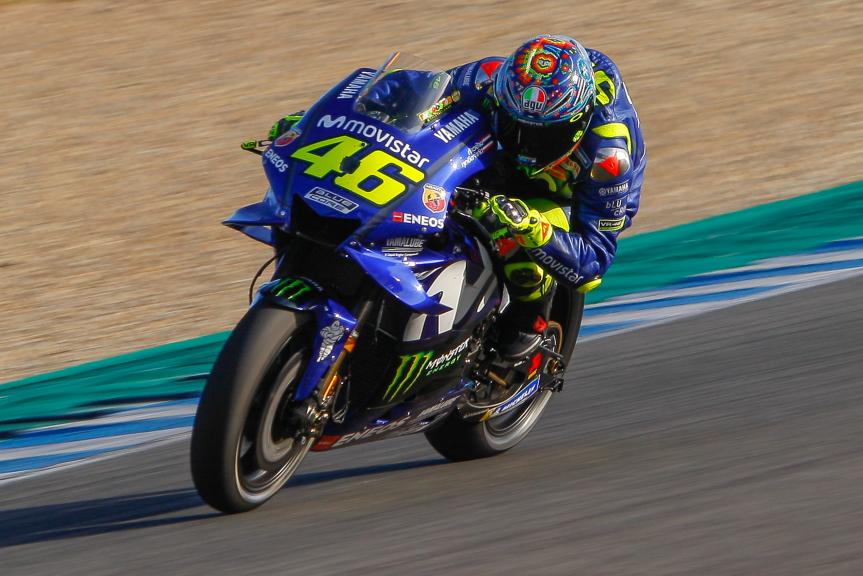 Valentino Rossi, Yamaha Factory Racing, Jerez MotoGP™ Test