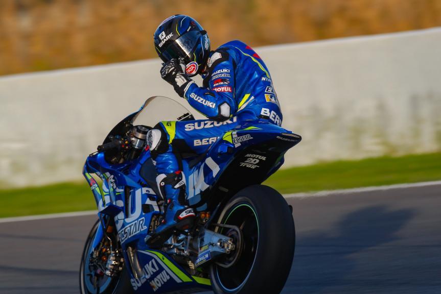 Sylvain Guintoli, Team Suzuki Ecstar, Jerez MotoGP™ Test
