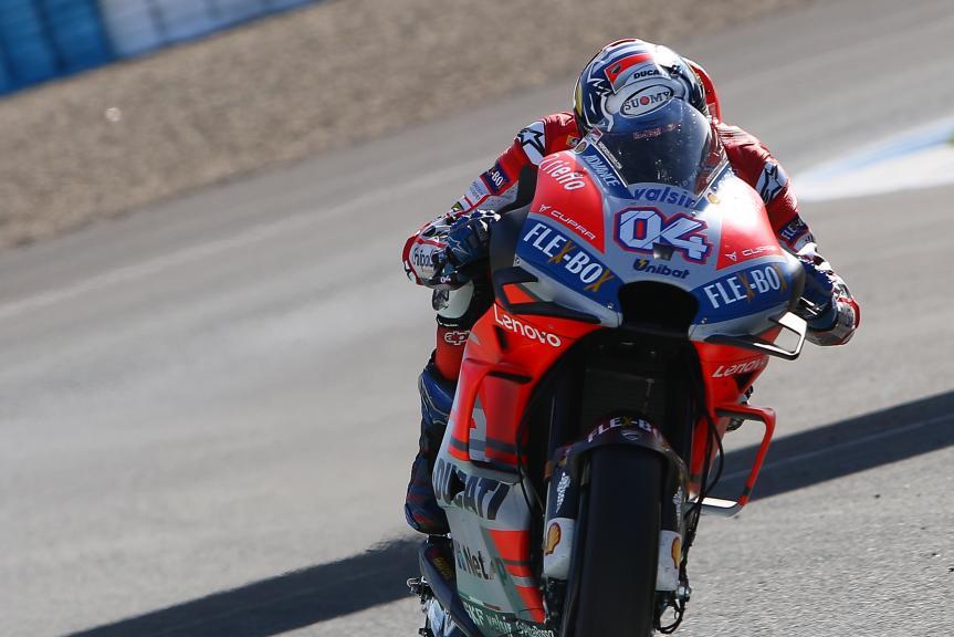 Andrea Dovizioso, Ducati Team, Jerez MotoGP™ Test
