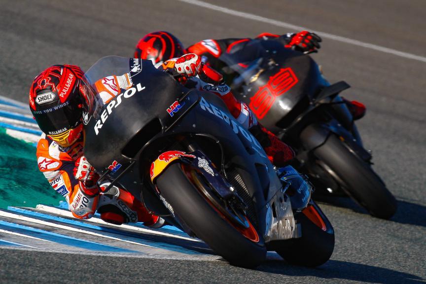 Marc Marquez, Jorge Lorenzo, Repsol Honda Team, Jerez MotoGP™ Test