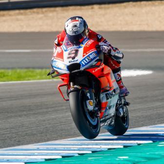 Petrucci macht an Tag 1 des Jerez-Tests das Tempo