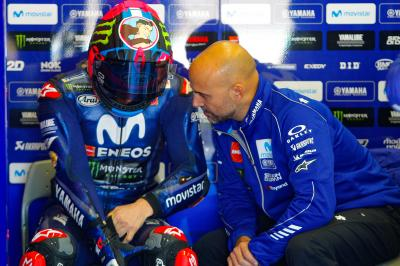 Viñales: 'Right now we're only working on the engine'