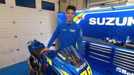 The Spanish rider graduated from Moto2™ to compete alongside Alex Rins in the Hamamatsu factory box