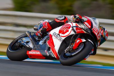 Nakagami leads Honda armada as testing concludes in Jerez