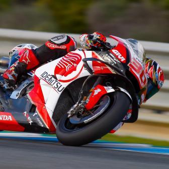 Nakagami führt Honda-Armada bei Testabschluss in Jerez an