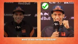 The KTM Tech 3 Racing riders went head-to-head to find out who knows whom the best.