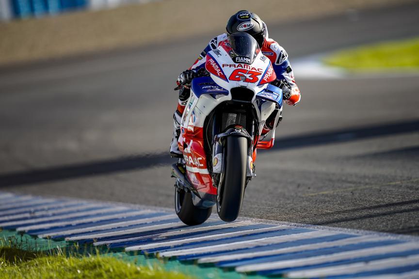 Francesco Bagnaia, Alma Pramac Racing, Jerez MotoGP™ Test