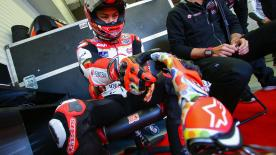 The LCR Honda Idemitsu rider was the fastest in the combined times after two days testing at the Circuito de Jerez-Angel Nieto